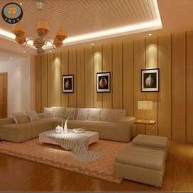 Beautiful PVC Panels at best rate - Rs. 60 per sqft