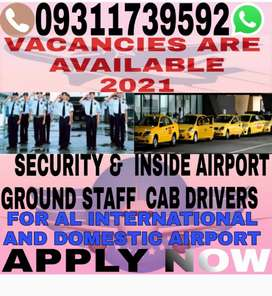 VACANCIES AVAILABLE FOR AIRPORT DRIVER AND SECURITY STAFF