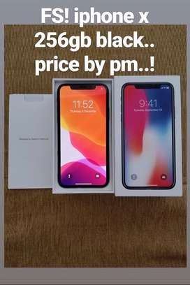 Jual iPhone X 256 gb Space Gray