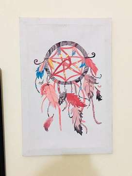 painting of dream catcher