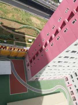 Apartemen Green Pramuka Type 2 BR Unfurnish sewa Pertahun