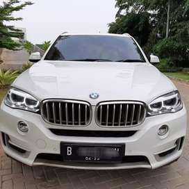 BMW X5 3.5i XDRIVE thn 2015 putih