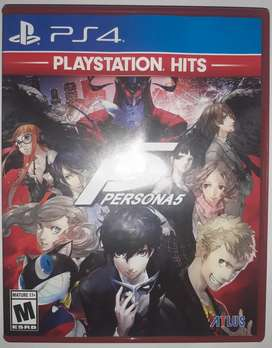 BD PS4 Persona 5 Playstation Hits Edition