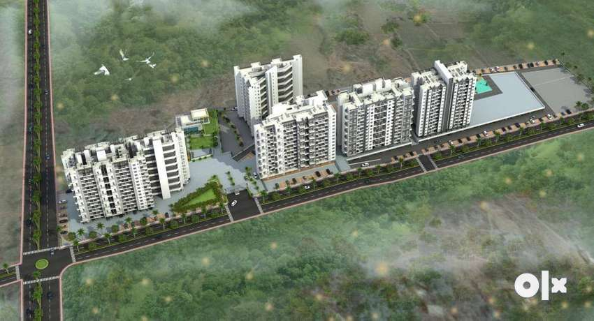 at 33 lakh(all incl)1 bhk Aprtment in moshi, nearing posession 0