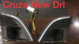 Chevrolet Cruze fog lights DRL