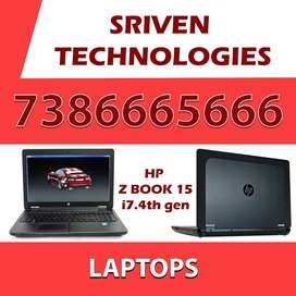 i7.4th gen Laptop For Gaming, Rendering SRIVEN TECHNOLOGIES