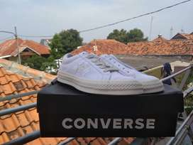 CONVERSE ONE STAR IVORY WHITE