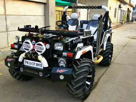 Modified Hunter Jeep on Order