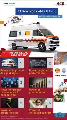 New Winger Ambulance   B. C. D Types