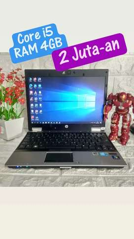Laptop hp core i5 ram 4 gb