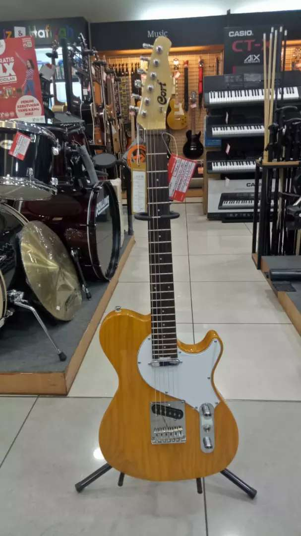 Kredit Elektrik Guitar Cort Classic TC-SBN Dp admin Saja 0