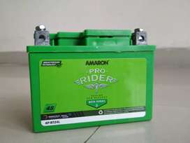 Amaron Battery of Scooty and Bike (4Ah) (3 days old only)