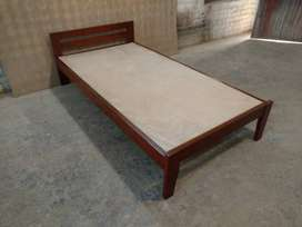 Single Solid Beds