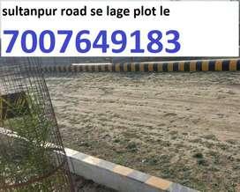 Turant registry aur kabja sultanpur highway se lage plot le