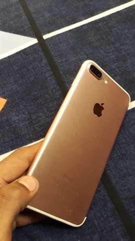 iPhone 7 Plus rose gold 32gb fingerprint not working