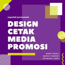 Jasa Desain dan Cetak Media Promosi