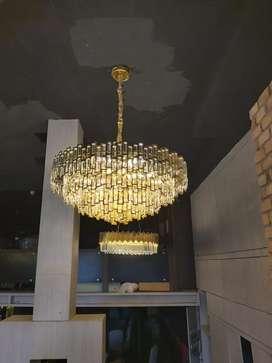 Lampu hias di dinding