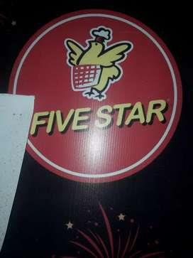Delivery boy for  Five star chicken