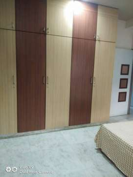 Beautiful 3 Bhk semi furnished flat near Crystal Mall, Kalawad Road