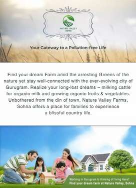 Own a farmhouse in nature valley sohna at very cheap cost