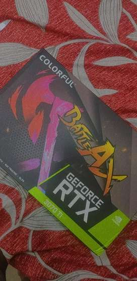 Nvidia RTX 3070ti (seal packed, unused) Graphics Card *negotiable*