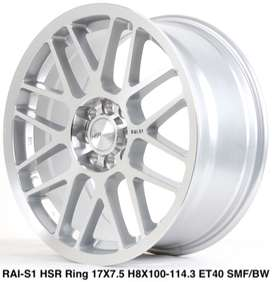 Velg kalimaatn RAI-S1 HSR R17X75 H8X100-114,3 ET40 SMF