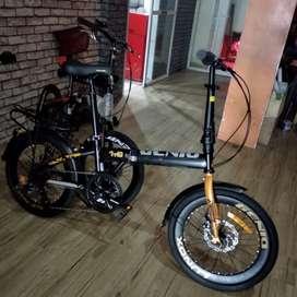Kami menjual sepeda lipat Genio lunox