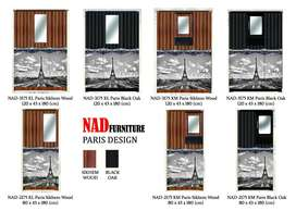 Lemari Pakaian NAD-2175 Paris (2 Pintu KM/KL)