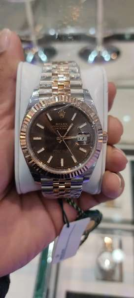 Brand new Rolex chocolate dial 41mm datejust  jubile bracelet avail
