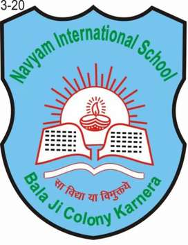 Required teachers for classes from pre nursery to 10th
