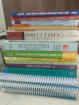 CMA BCom LIC test books
