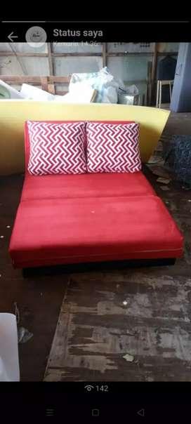 Sofa L sofabed  ukuran 120x180