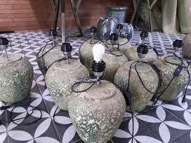 Goci Lampu eksotis gerabah