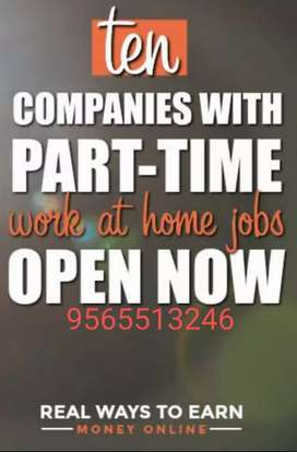 Work any time , any where part time to do