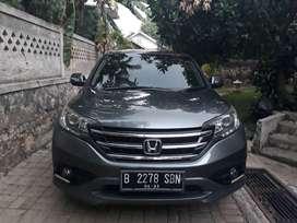 Honda CRV A/T 2.0 abu-abu  th.2013