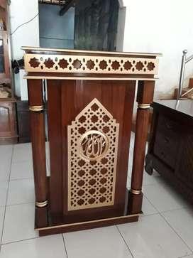 Mimbar masjid al qahhar jati
