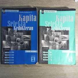 Buku Kedokteran ASLI Kapita Selekta Kedokteran Kapsel 2000 bekas