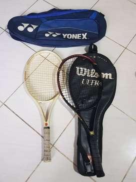 Raket Tennis Merk Wilson dan Boris Becker