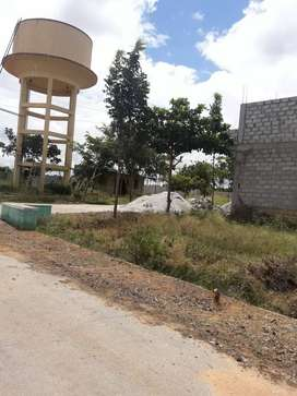 999*/- psqft Plots for sale In Budigere Town Near Bus Stop