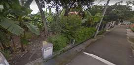 Tanah pekarangan lokasi dekat kampus UMS cocok untuk usaha