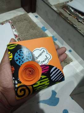 Mini folding card