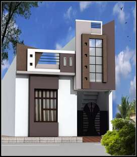 20*50 Uit Approved colum structure House in 38Lac
