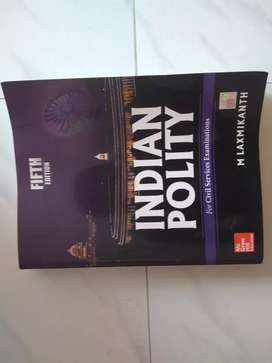 Indian Polity by M. Laxmikanth (Fifth Edition)