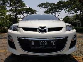 Mazda CX7 GT Bose Putih 2011 Bergaransi Mesin
