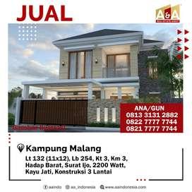 Jual Rumah Murah Kampung Malang