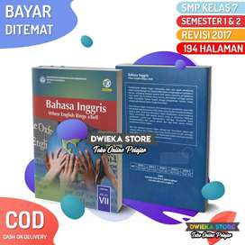 COD | Buku Siswa Bahasa Inggris SMP Kelas 7 K13 Edisi Rev 2017