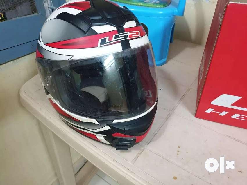 LS2 Helmet red colour for 2500 0