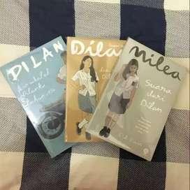 Novel Dilan 1990 dan Milea