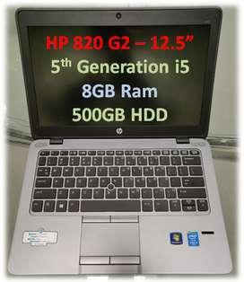 HP i5 5th Gen 8GB -500GB - Rs.21990/- BEST Working