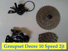Groupset deore 10 Speed 11 Speed 12 Speed 9 Speed